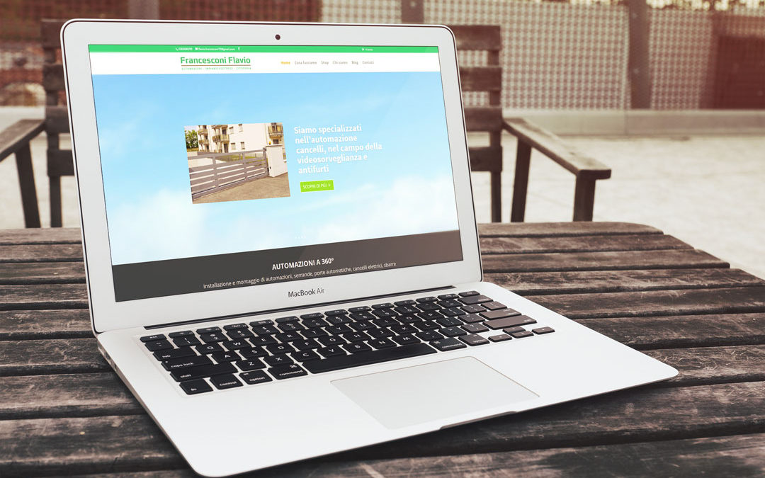Nuovo sito online