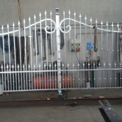 Cancello A Due Ante Battenti.Cancello Elettrico 2 Ante Battenti Archivi Francesconi Flavio